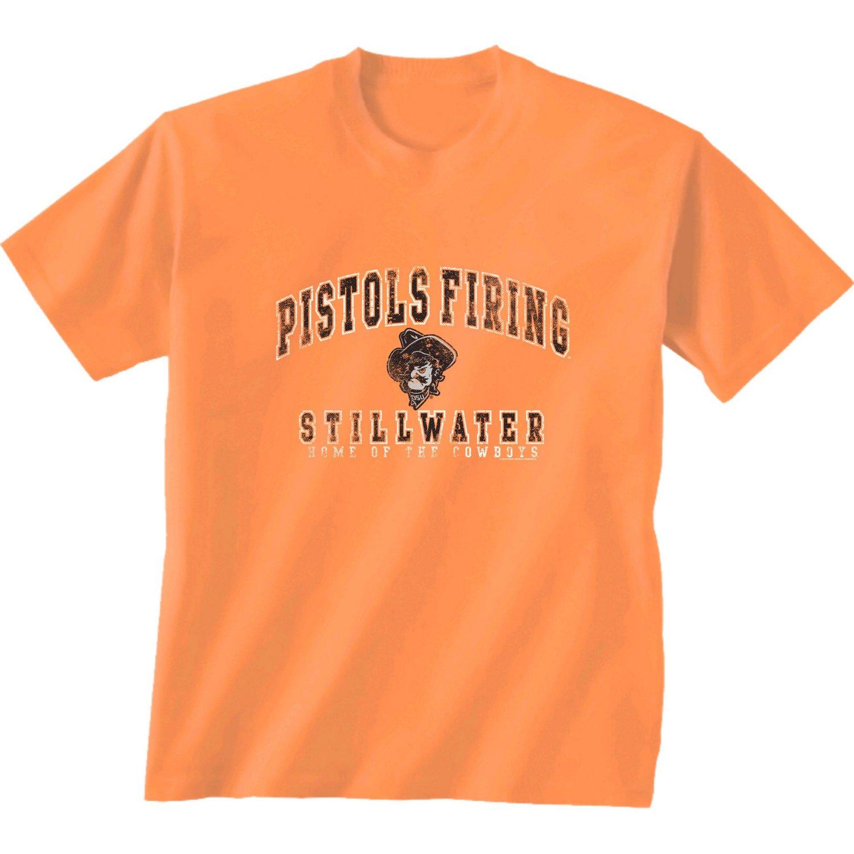 New World Graphics Men's Oklahoma State University Local Phrase T-shirt