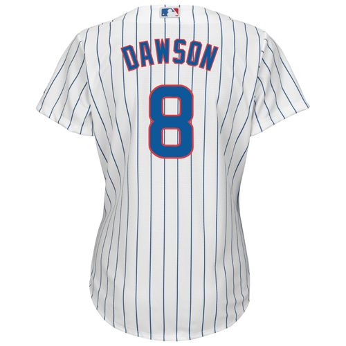 Majestic Women's Chicago Cubs Andre Dawson #8 Cool Base Replica Jersey - view number 2