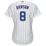 Majestic Women's Chicago Cubs Andre Dawson #8 Cool Base Replica Jersey - view number 1