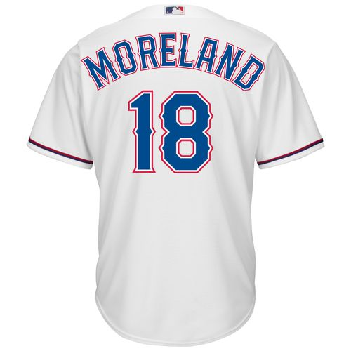 Majestic Men's Texas Rangers Mitch Moreland #18 Cool Base Replica Jersey