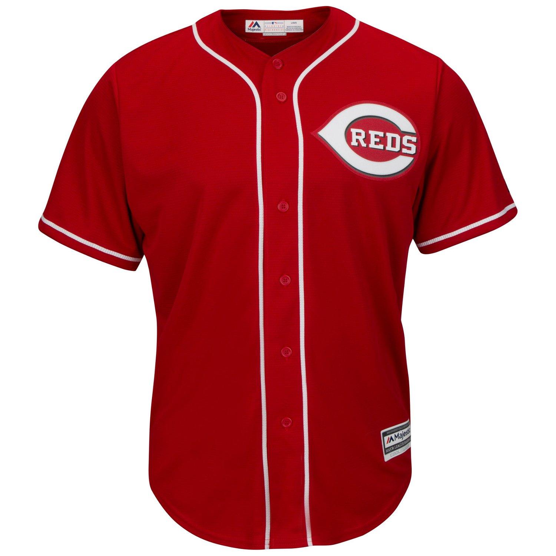 Majestic Men's Cincinnati Reds Ken Griffey Sr. #30 Cool Base Replica Jersey - view number 3