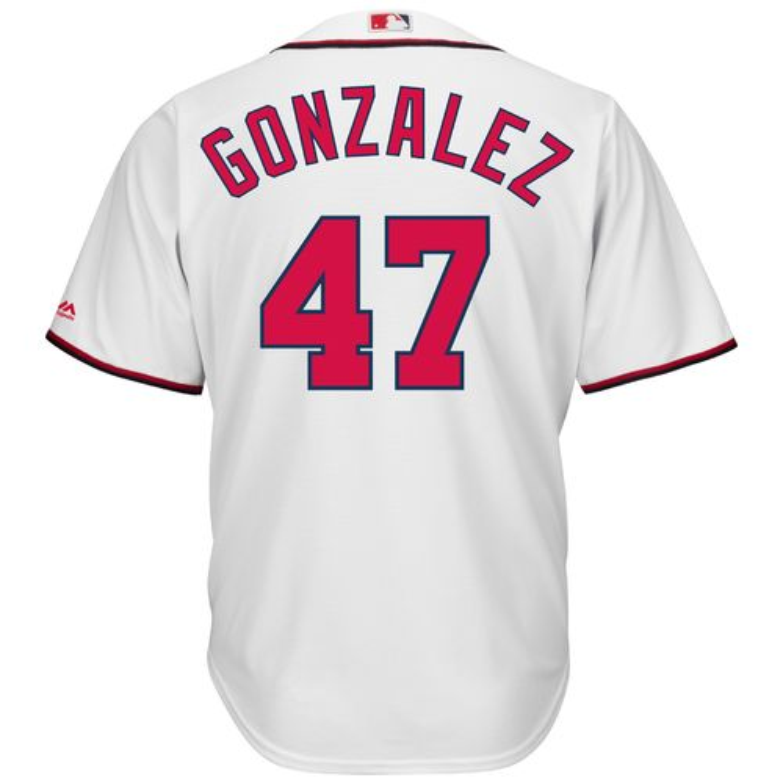 Majestic Men's Washington Nationals Gio Gonzalez #47 Cool