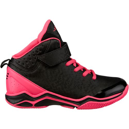 Pink And Black Womens Basketball Shoes
