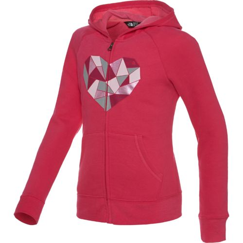 The North Face® Girls' Logowear Full Zip Hoodie