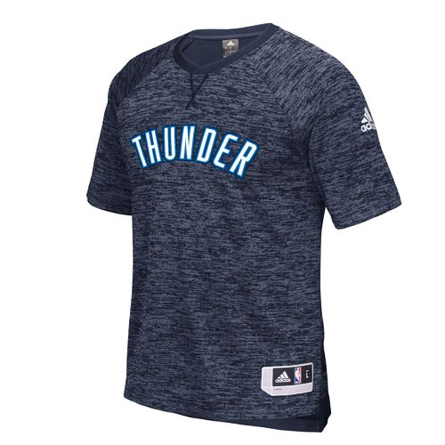 adidas™ Men's Oklahoma City Thunder Short Sleeve Shooter