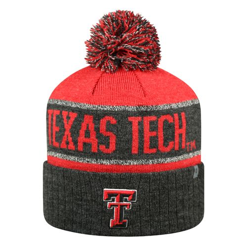 Top of the World Men's Texas Tech University Below Zero Cuffed Knit Cap