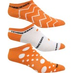 Topsox Women's University of Tennessee No-Show Socks 3 Pairs