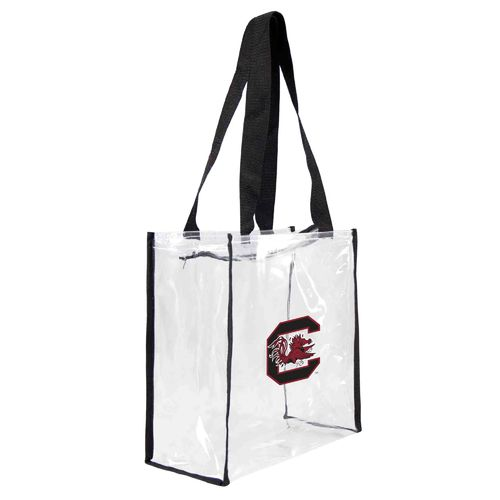 Display product reviews for Little Earth Productions University of South Carolina Clear Square Tote Bag
