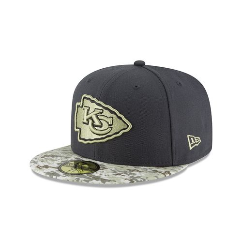 New Era Men's Kansas City Chiefs Salute to Service 59FIFTY Cap