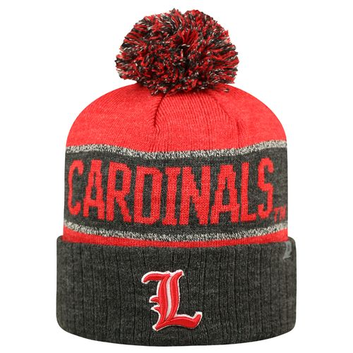 Top of the World Men's University of Louisville Below Zero Cuffed Knit Cap