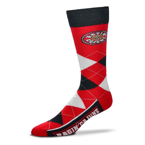 For Bare Feet Adults' University of Louisiana at Lafayette Team Pride Flag Top Dress Socks
