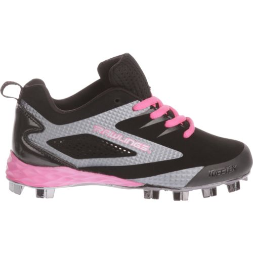 Rawlings Girls' Capture Low Baseball Cleats - view number 1