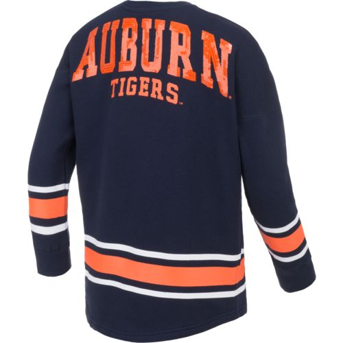 Colosseum Athletics™ Girls' Auburn University Boyfriend Varsity Pullover
