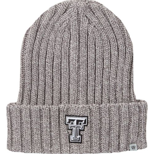 Top of the World Men's Texas Tech University Two Below Cuffed Knit Cap