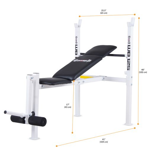 Body champ standard weight bench academy Academy weight bench