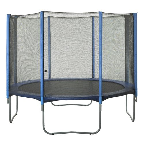 Upper Bounce® Replacement Trampoline Enclosure Net for 14' Round Frames with 8 Straight Poles - view number 6