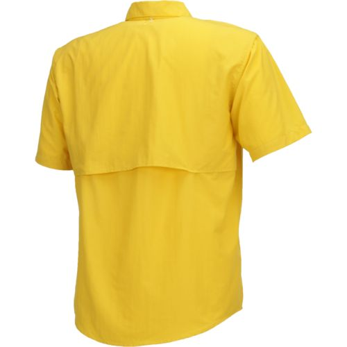 Magellan Outdoors Men's Laguna Madre Solid Short Sleeve Fishing Shirt - view number 2
