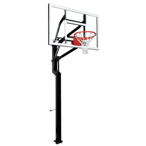 Goalsetter Signature Series All-Star 54' Tempered-Glass Inground Basketball System