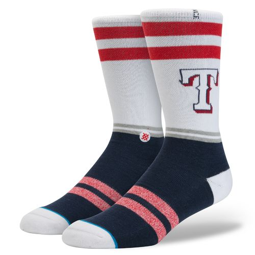 Stance Men's Texas Rangers Diamond Socks