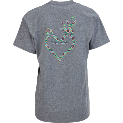 Browning Women's Tribal Buckheart T-shirt - view number 3