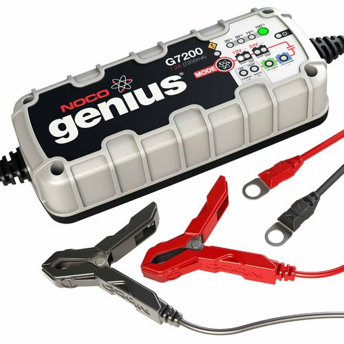 Display product reviews for NOCO 7.2 Amp UltraSafe Battery Charger and Maintainer
