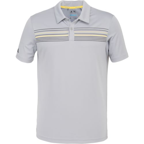 adidas Men's climacool Chest Print Polo Shirt