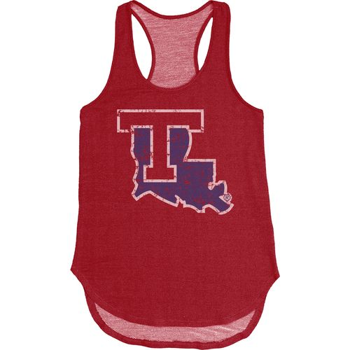 Blue 84 Women's Louisiana Tech University Nala Premium Terry Tank Top - view number 1