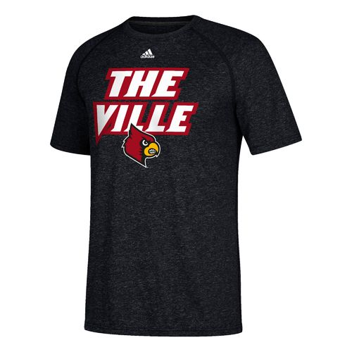 adidas Men's University of Louisville Statement Ultimate T-shirt