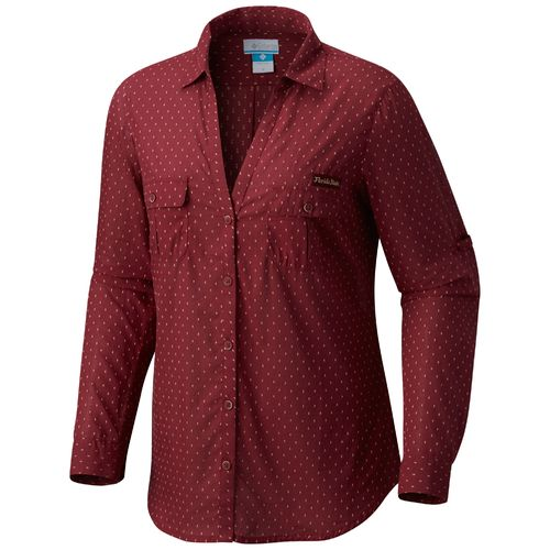 Columbia Sportswear Women's Florida State University Sun Drifter Button Down Shirt