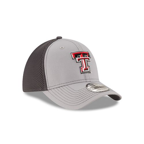 New Era Men's Texas Tech University Grayed Out Neo 39THIRTY Cap - view number 3
