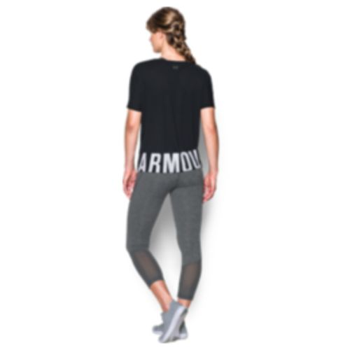 Under Armour Women's Wordmark Hem Cropped Top - view number 4