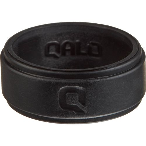 QALO Men's Step Edge Q2X Flat Silicone Wedding Ring