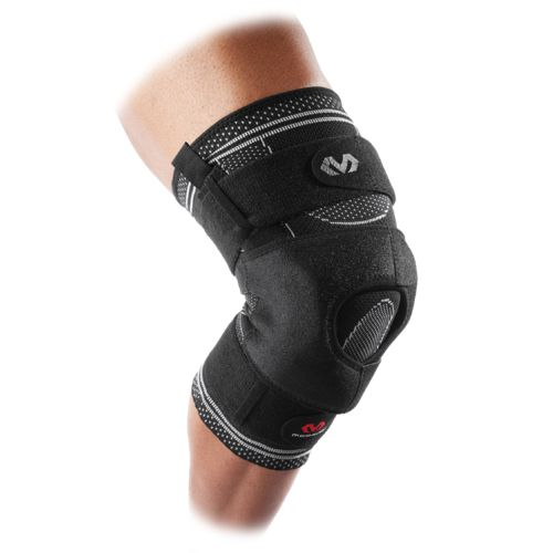 McDavid Elite Engineered Elastic Knee Brace with Dual Wrap and Hinges