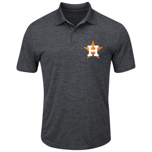 Display product reviews for Majestic Men's Houston Astros Hit First Polo Shirt