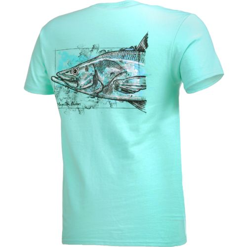 Magellan Outdoors Men's Water Drawn Snook T-shirt - view number 2