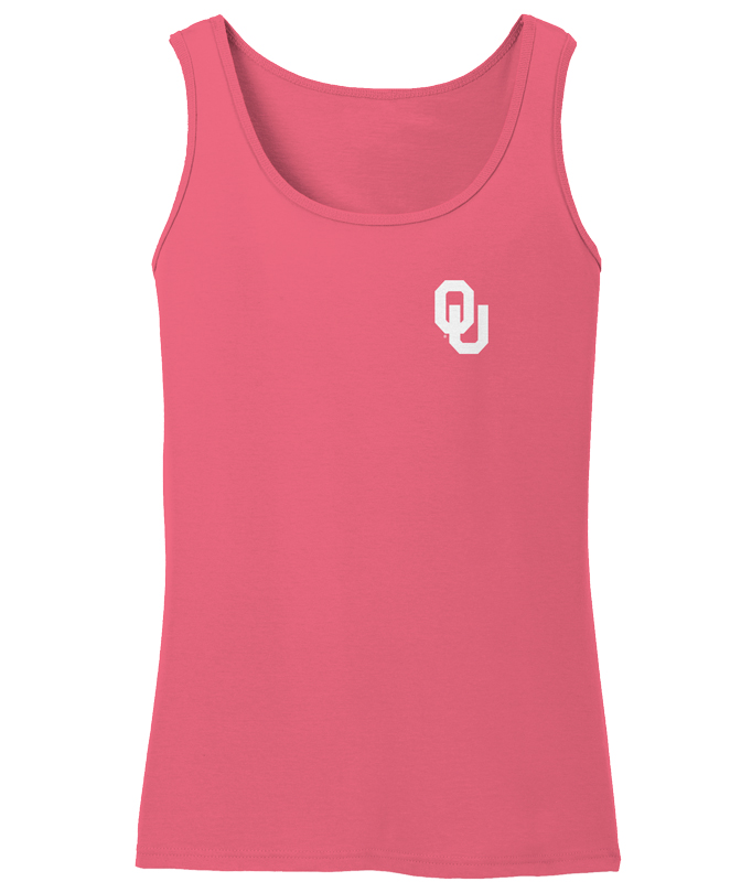 Image One Women's University of Oklahoma Comfort Color Tank Top - view number 2