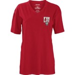 Three Squared Juniors' Arkansas State University Team For Life Short Sleeve V-neck T-shirt - view number 2