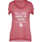 Chicka-d Women's University of Oklahoma Scoop-Neck T-shirt - view number 1