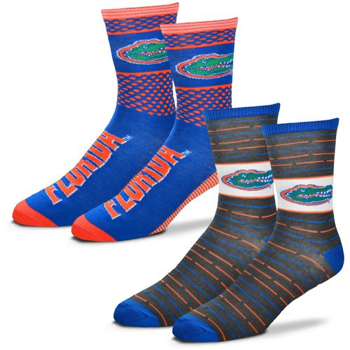 For Bare Feet Men's University of Florida Father's Day Socks