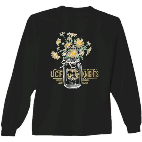 New World Graphics Women's University of Central Florida Bouquet Long Sleeve T-shirt