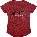Blue 84 Women's North Carolina State University Dark Confetti V-neck T-shirt - view number 1