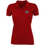 Antigua Women's University of Georgia Pique Xtra-Lite Polo Shirt - view number 1