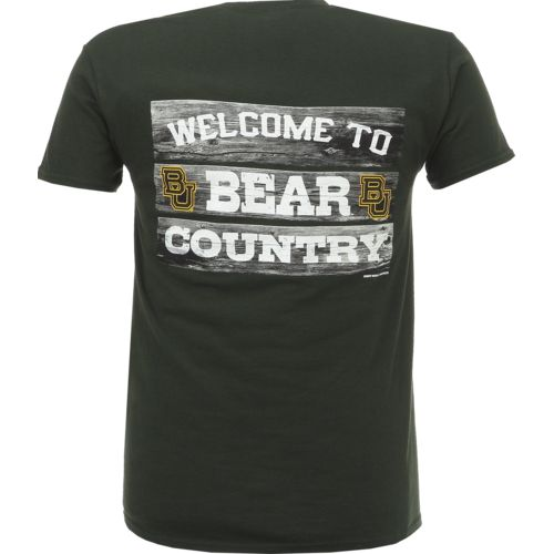 New World Graphics Men's Baylor University Welcome Sign T-shirt