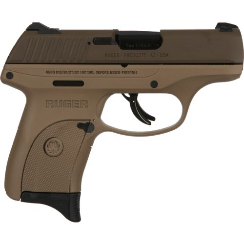 Ruger LC9S 9mm Caliber Pistol with SnapSafe Lock Box