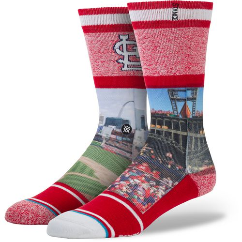 Stance Men's St. Louis Cardinals Eads Bridge Crew Socks