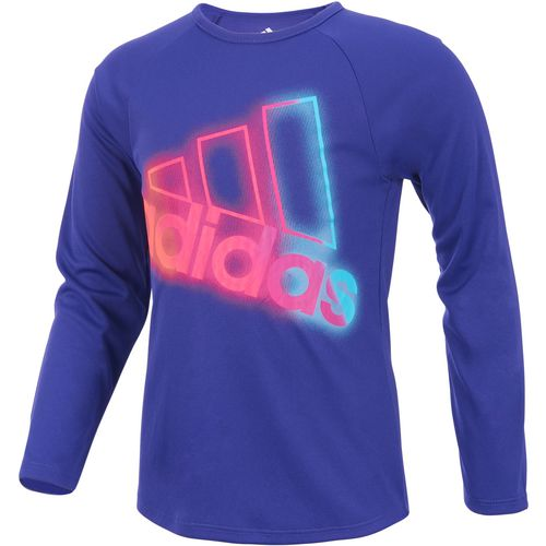 adidas Girls' climalite Extraordinary Long Sleeve T-shirt