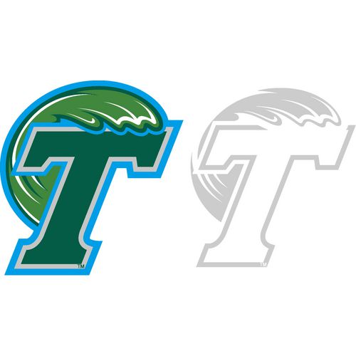 Stockdale Tulane University 4' X 7' Logo Decals 2-Pack