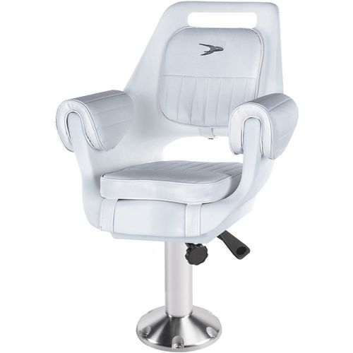 Wise Deluxe Pilot Chair and 15 in Fixed Pedestal Set
