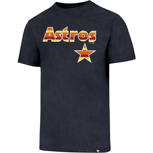 '47 Men's Houston Astros  Rainbow Star Imprint Club T-Shirt