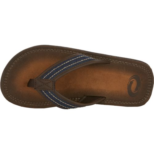 O'Rageous Men's Burnished Denim Flip-Flops - view number 4